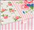 Naaibox klein - bloemmotief rose (op=op)