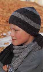 Breipatroon Muts En Sjaal Voor Jongens