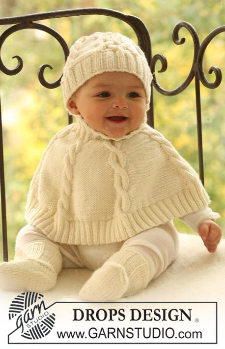 Knitting Pattern Baby Poncho : Bestelshop Hobbydoos.nl - InternetWinkel Hobbydoos.nl