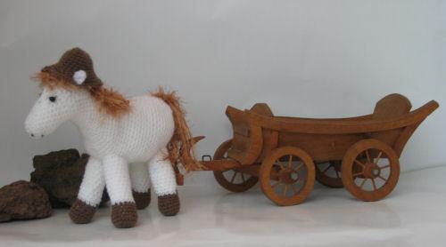 Haakpatronen Paard