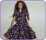 Naaipatronen Rok Met Overjurk Voor Barbie