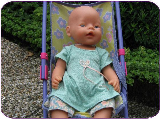 Naaipatroon Babyborn Jurkje Met Legging