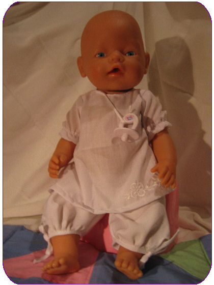 Naaipatroon Baby Babyborn