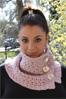 Зимний гардероб: вязаные шарфы, манишки, воротники и косынки! .  Не забывай про яркие краски! .  Фото!