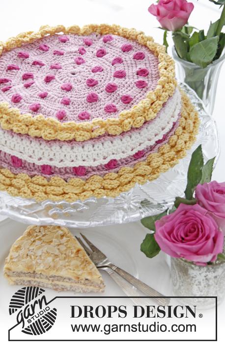 ... voor deksel van kleine taartdoos met bessen en slagroom van Muskat