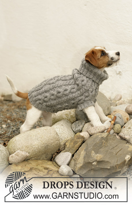 Knitting Pattern For Jack Russell Dog Coat : Breipatroon Hondentrui