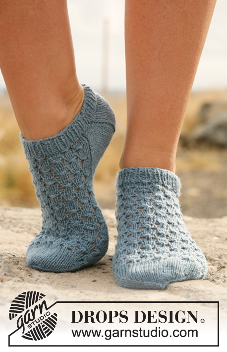 Ankle Sock Knitting Pattern : Breipatroon sokken