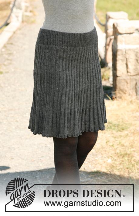 Knitted Skirt Pattern Free : Breipatroon Rok