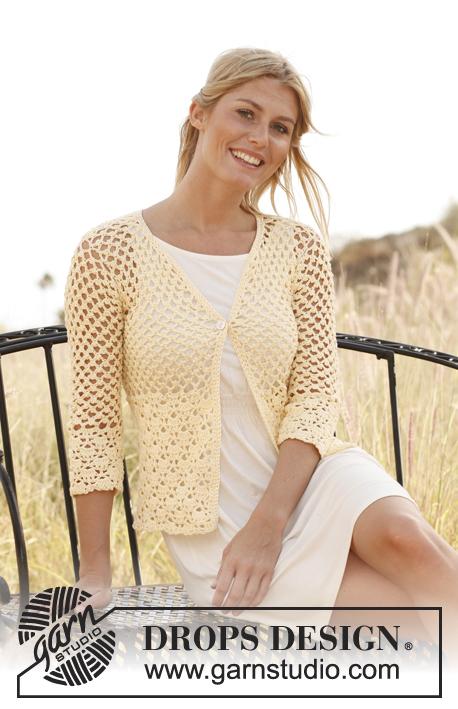 Garnstudio Free Crochet Patterns : Haakpatroon Gehaakt vest