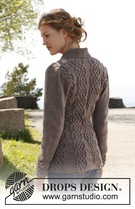 Knitting Pattern For Fitted Jacket : Breipatroon Vest