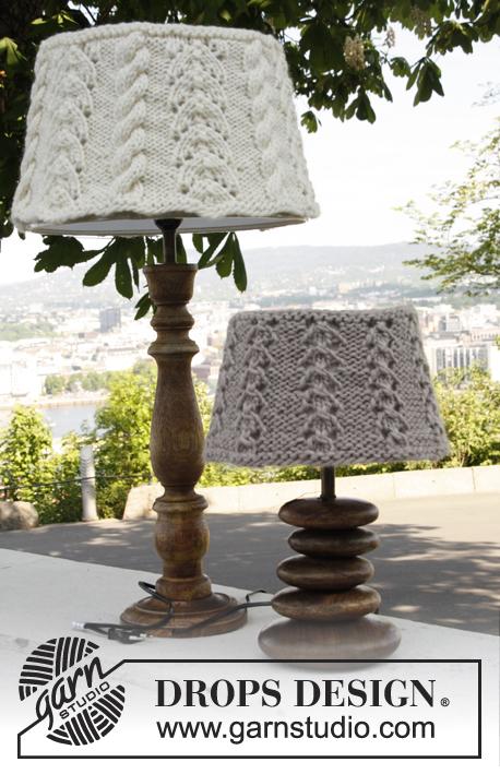 Breipatroon Hoes voor lampenkap