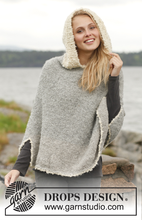 Alpaca Poncho Knitting Pattern : Document Moved
