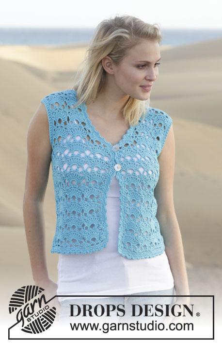 Free Crochet Pattern For Ladies Gilet : Haakpatroon Gilet