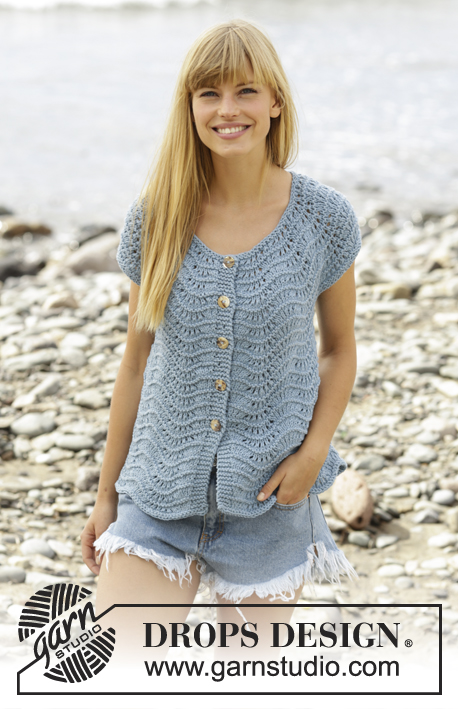Free Crochet Pattern Short Sleeve Sweater : Breipatroon Jurk