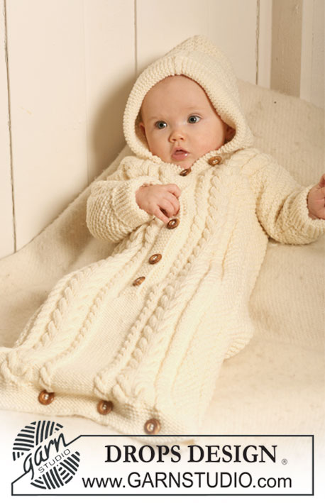Knitting Pattern For Baby Grow Bag : Breipatroon Trappelzak